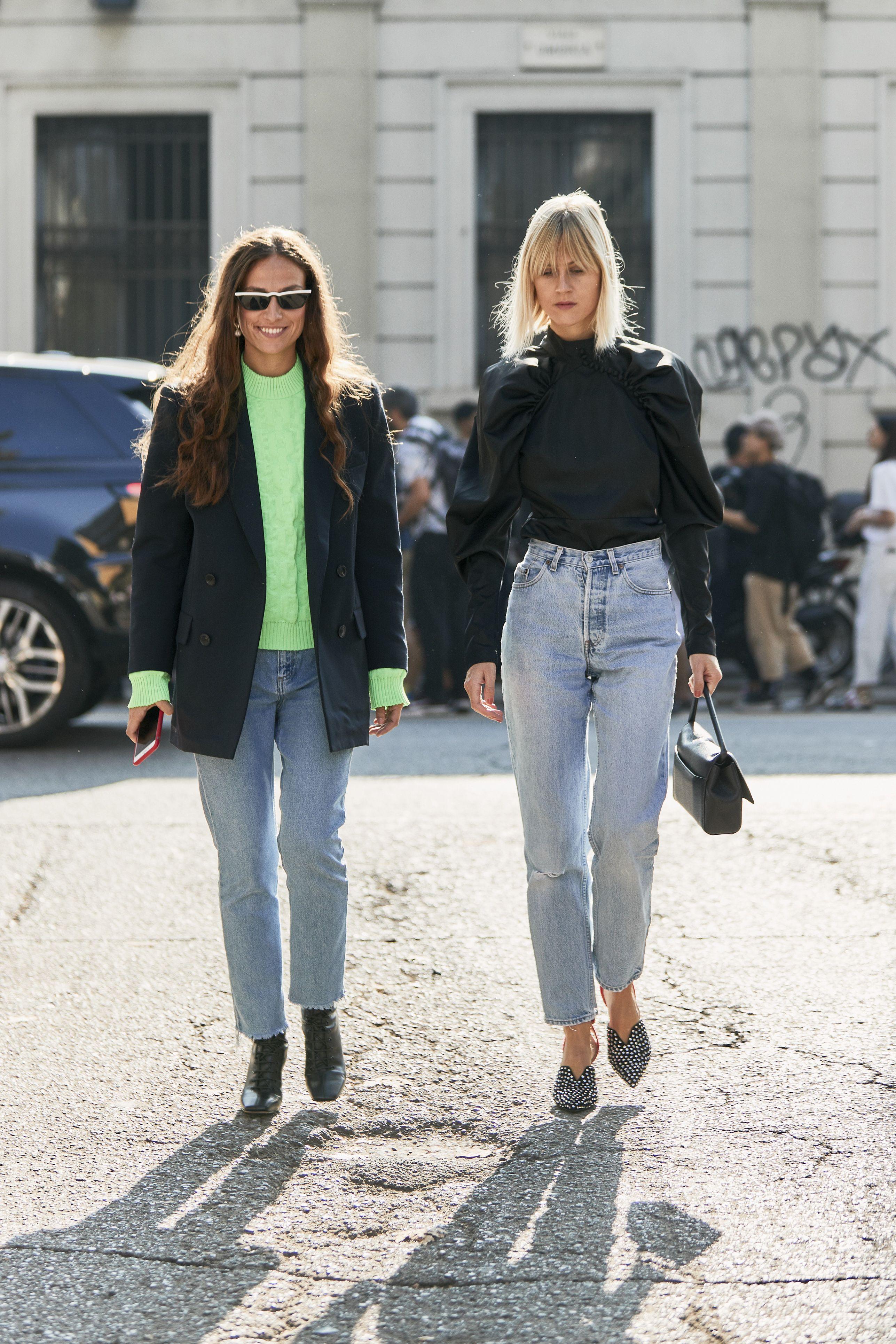 moda jeans inverno 2019, moda jeans 2019, tendenza jeans 2019