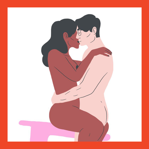 Interaction, Romance, Love, Black hair, Animation, Hug, Stomach, Graphics, Kneeling,