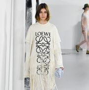 Loewe : Runway - Paris  Fashion Week Womenswear Spring/Summer 2018