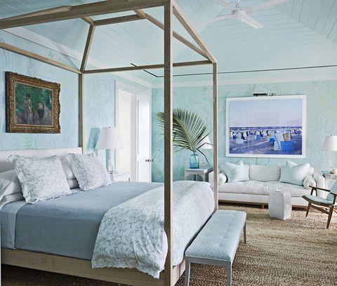 Miles Redd Master Bedroom Bahamas