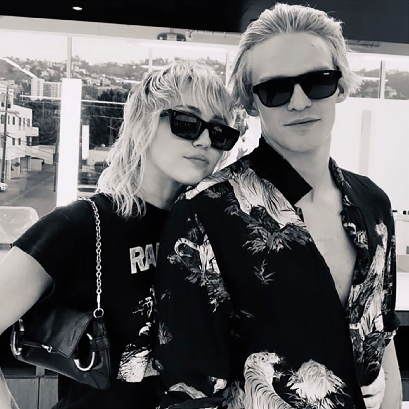 See Miley Cyrus and Cody Simpson's New Matching Tattoos