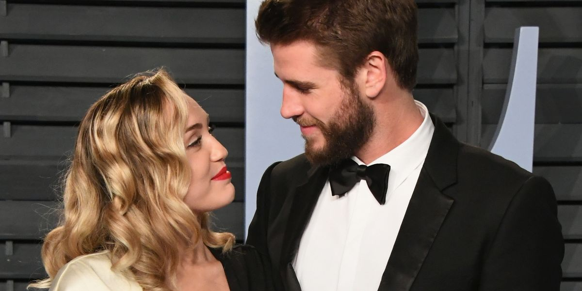 Miley Cyrus Shares New Liam Hemsworth Wedding Photos for ...
