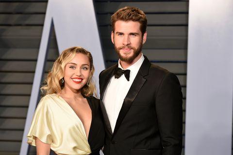 Miley Cyrus Liam Hemsworth birthday