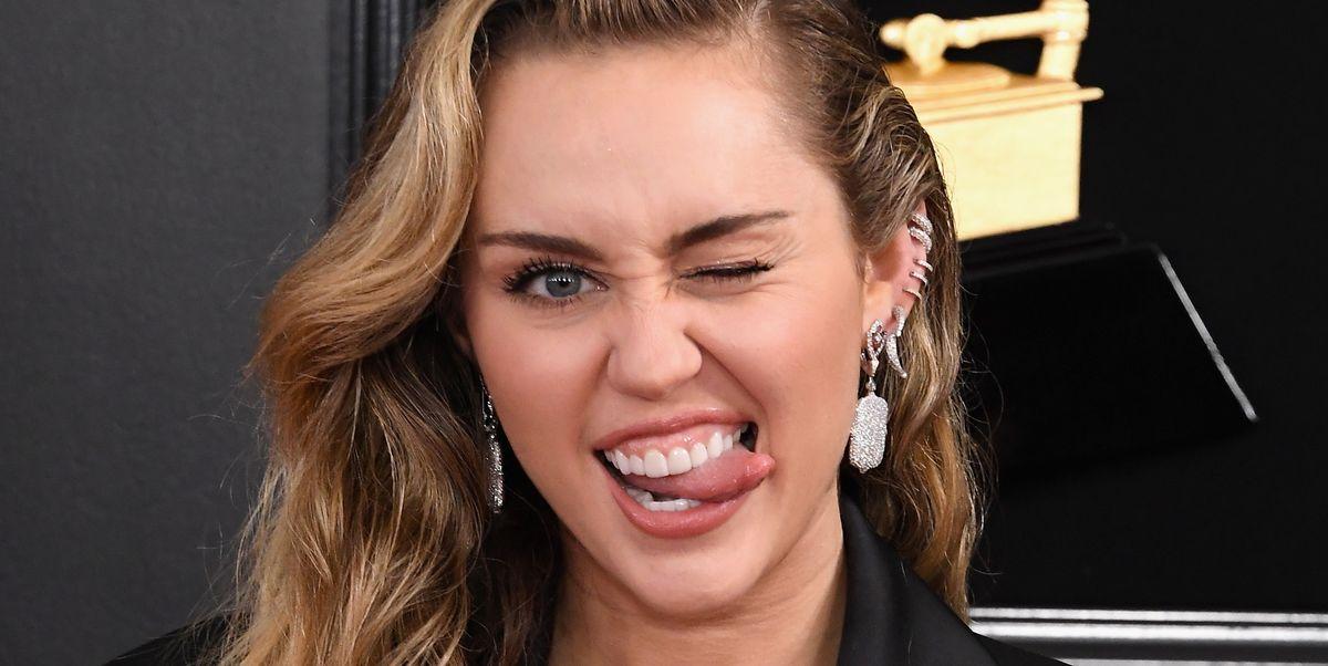 Miley Cyrus Wears Black Pantsuit To 2019 Grammy Awards