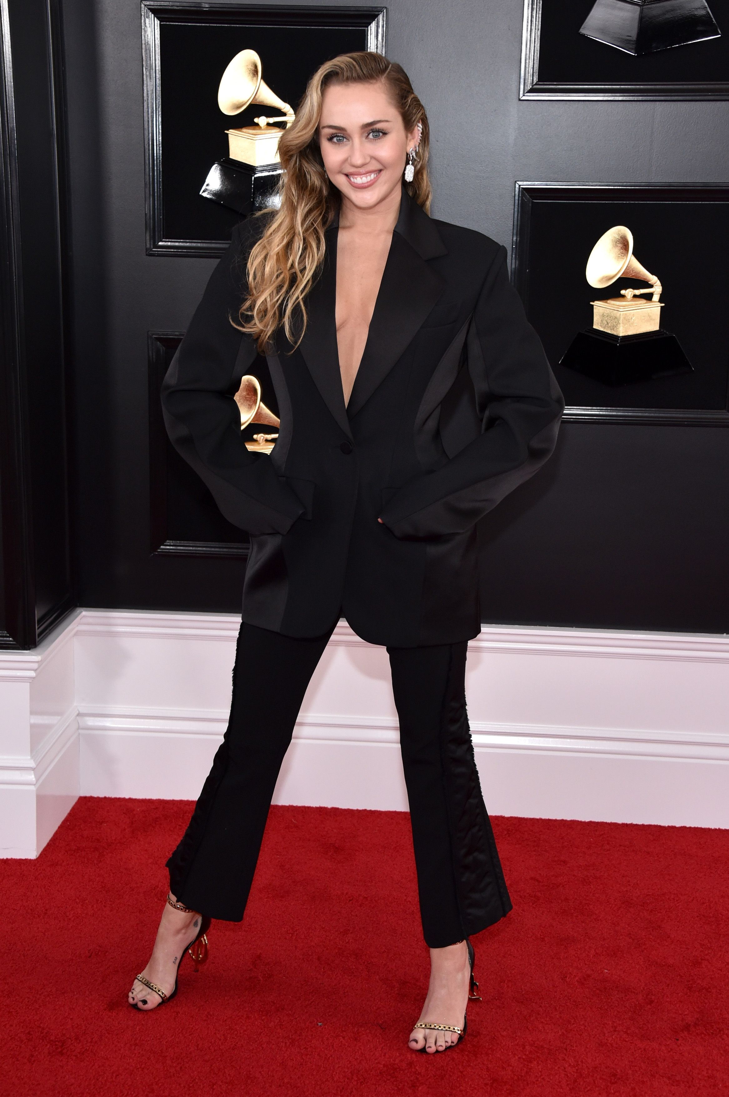 61st Annual GRAMMY Awards - Miley Cyrus