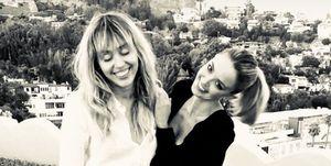 Kaitlynn Carter en Miley Cyrus