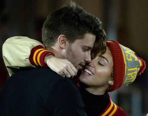 197ffbe33a36a2 Miley Cyrus and Liam Hemsworth's Relationship Timeline - A Guide to ...