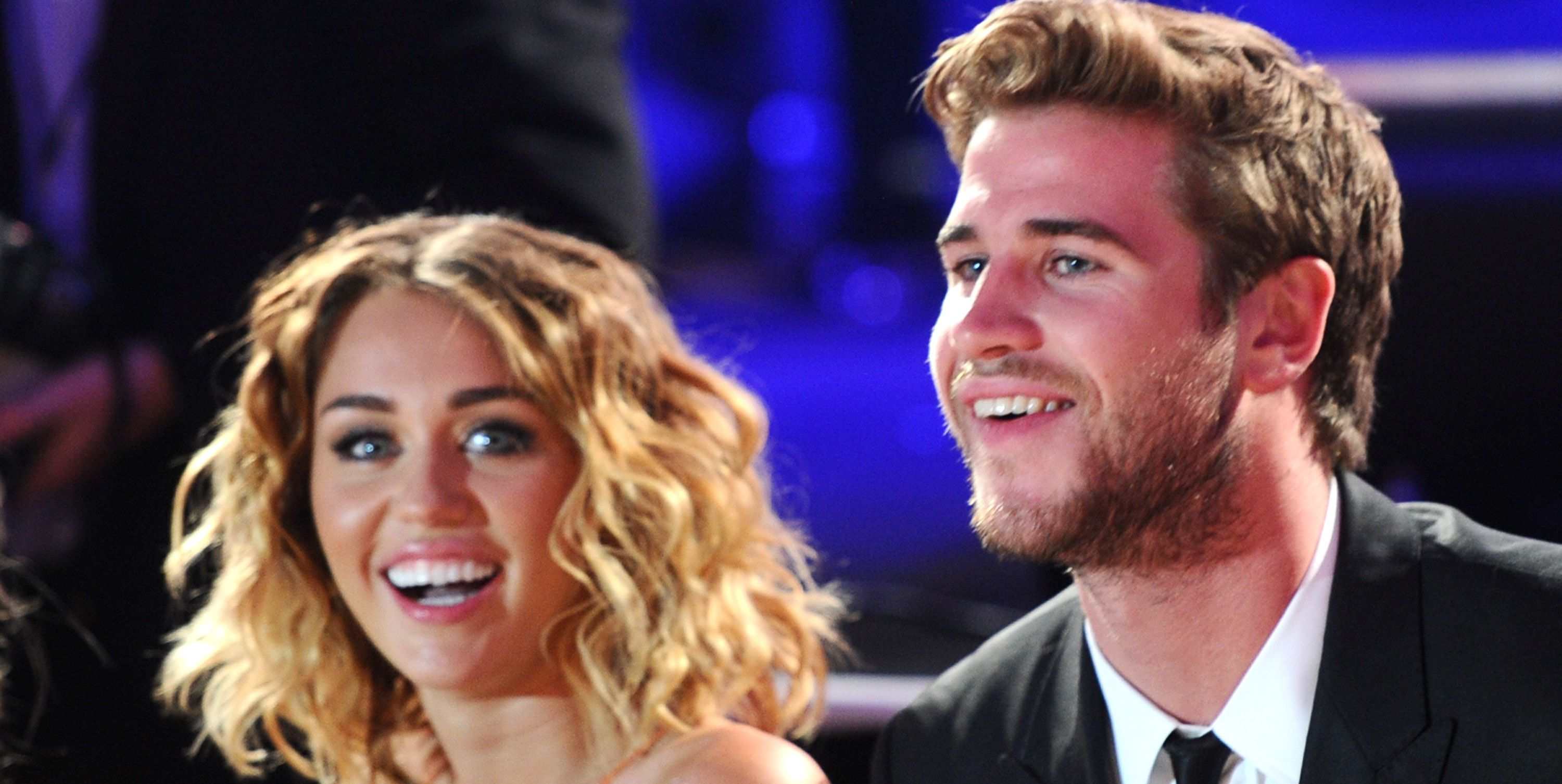 Miley Cyrus and Liam Hemsworth Win Valentine's Day With This Incredible Photoshop of Liam in a Dress