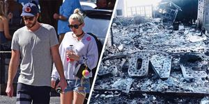 Liam Hemsworth shares devastating photo of his and Miley Cyrus' home after California wildfires