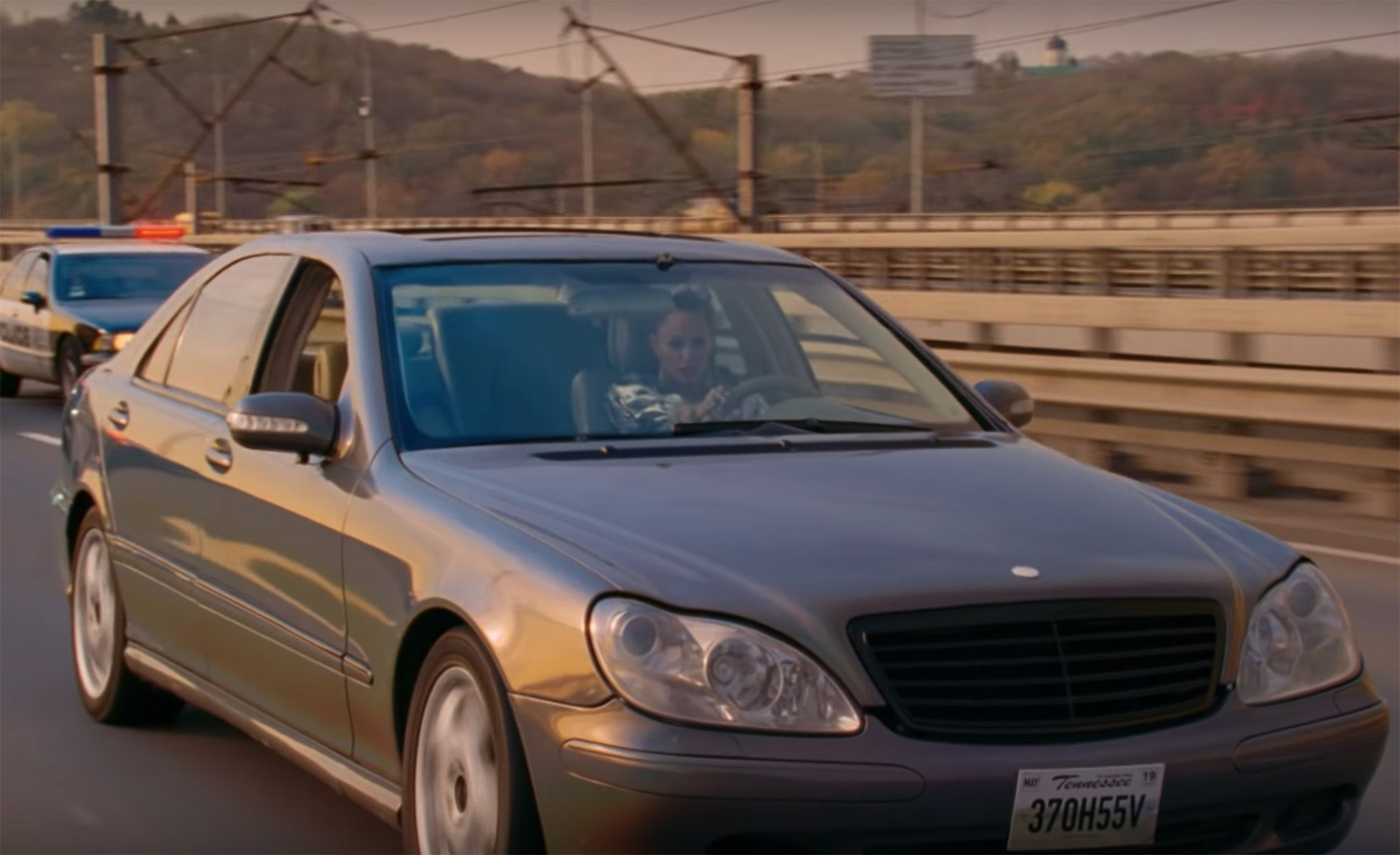 Miley Cyrus Music Video Mercedes Benz S Class Gets Wrecked