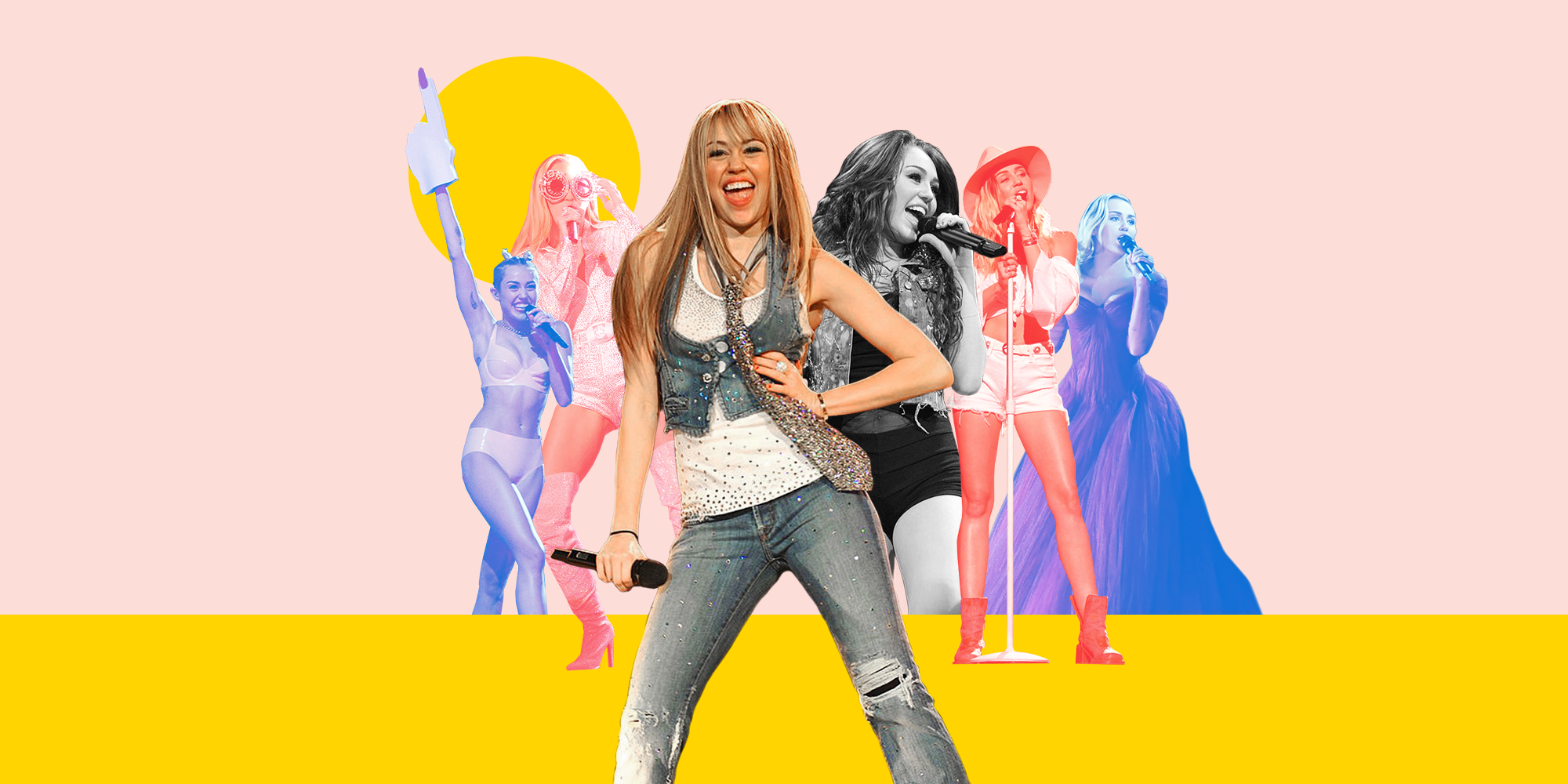 42 of Miley Cyrus's Best Stage Looks Through the Years