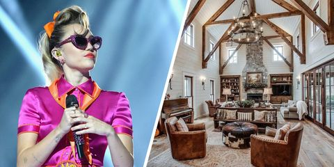 miley cyrus Tennessee mansion