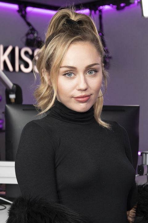 Miley Cyrus - Best Updos for Long Hair