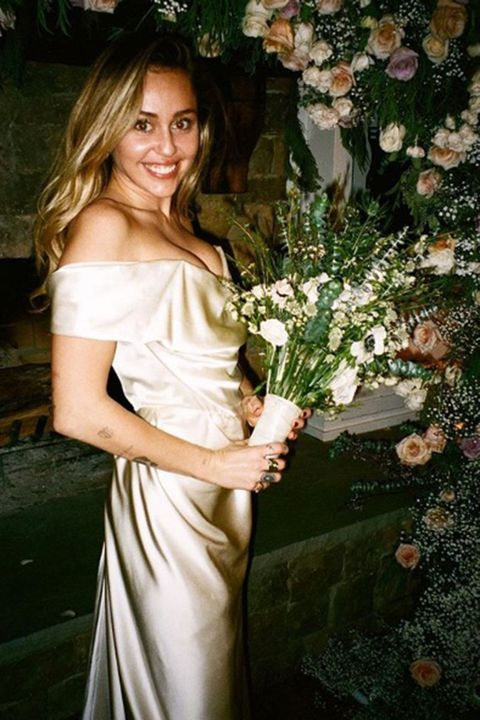230caa05e8e Celebrity wedding dresses in pictures