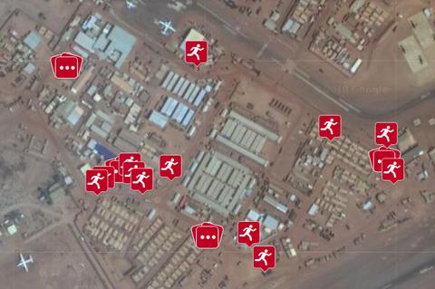 polar exercisemilitary base location gps