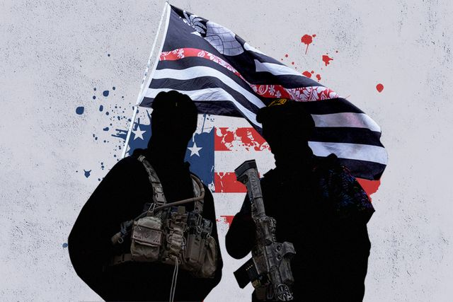an expert on white supremacist militia groups
