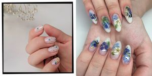 Milk Bath Nail Art Trend