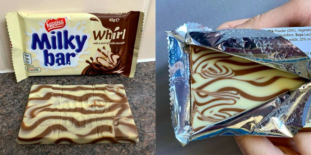 Milkybar Whirl Chocolate Bars Have Been Spotted in B&M!