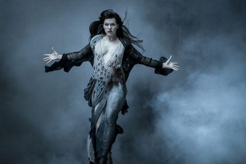 Hellboy / Milla Jovovich