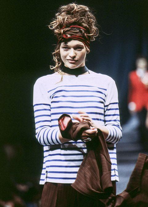 jean paul gaultier runway rtw spring summer 1997 paris fashion week