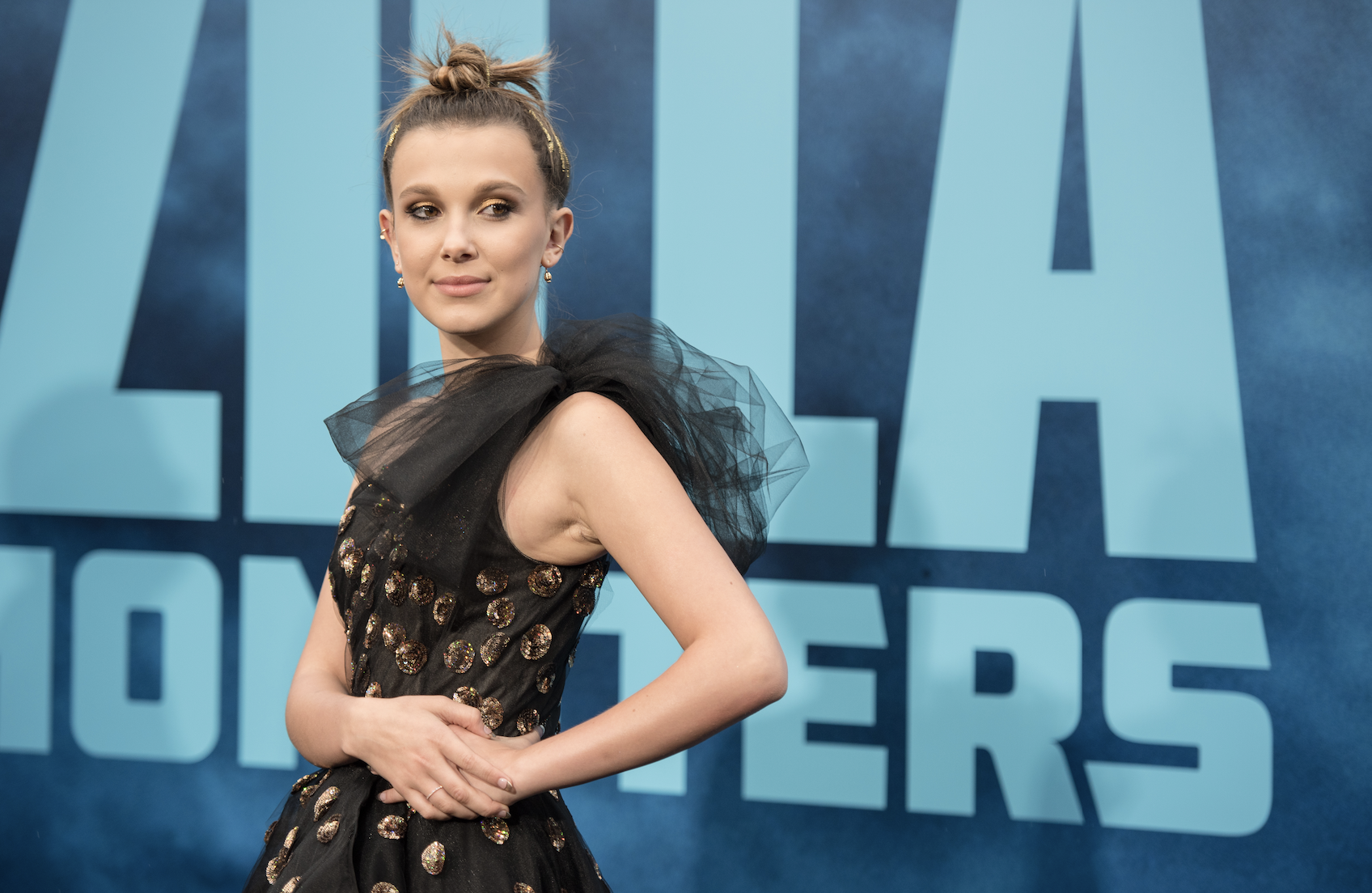 Stranger Things star Millie Bobby Brown apologises after miming in skincare regime video