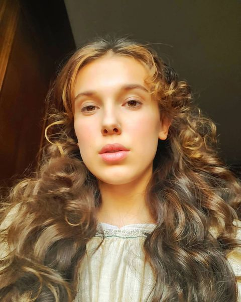 Millie Bobby Brown Unveils New Hairstyle For Sherlock Movie