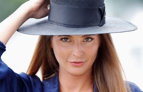 Clothing, Hat, Sun hat, Beauty, Fashion accessory, Fedora, Headgear, Cool, Costume hat, Costume accessory,