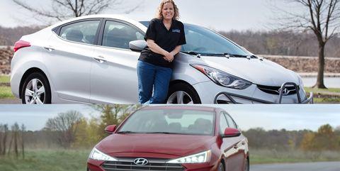 million mile Hyundai Elantra