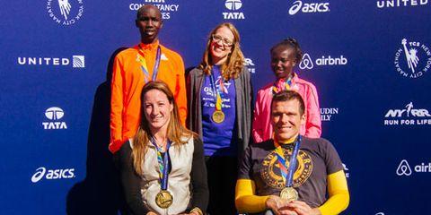 NYC Marathon Millionth Finisher