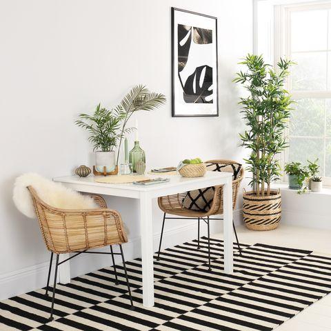 milton white table   tropical