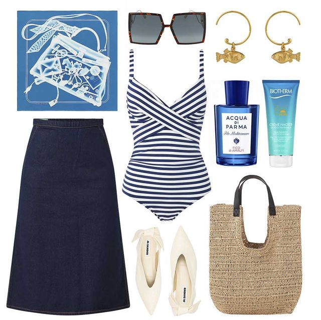 een zomerse look geinspireerd op st tropez in de stijl van hoofdredacteur miluska van t lam