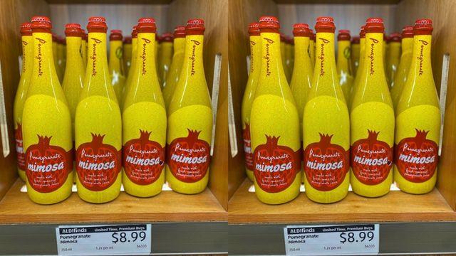 mimosa bottles