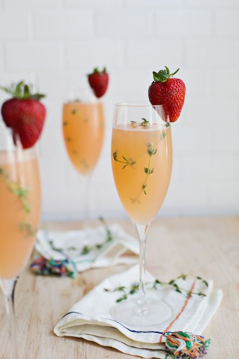 mimosa recipe strawberry grapefruit