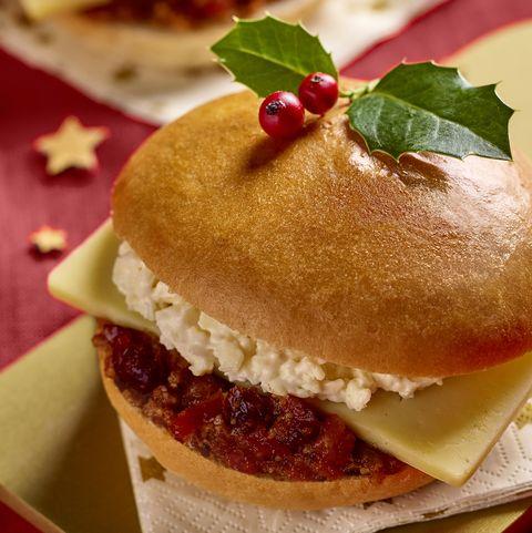 Morrisons mince pie sandwich