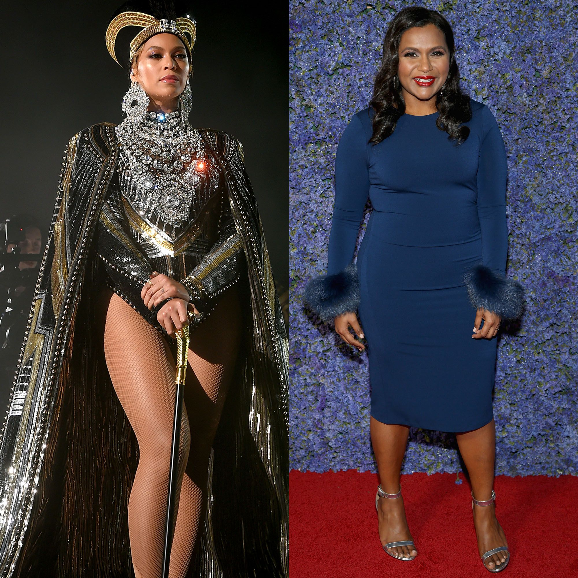 Mindy Kaling Just Hilariously Paid Tribute to Beyoncé's Homecoming