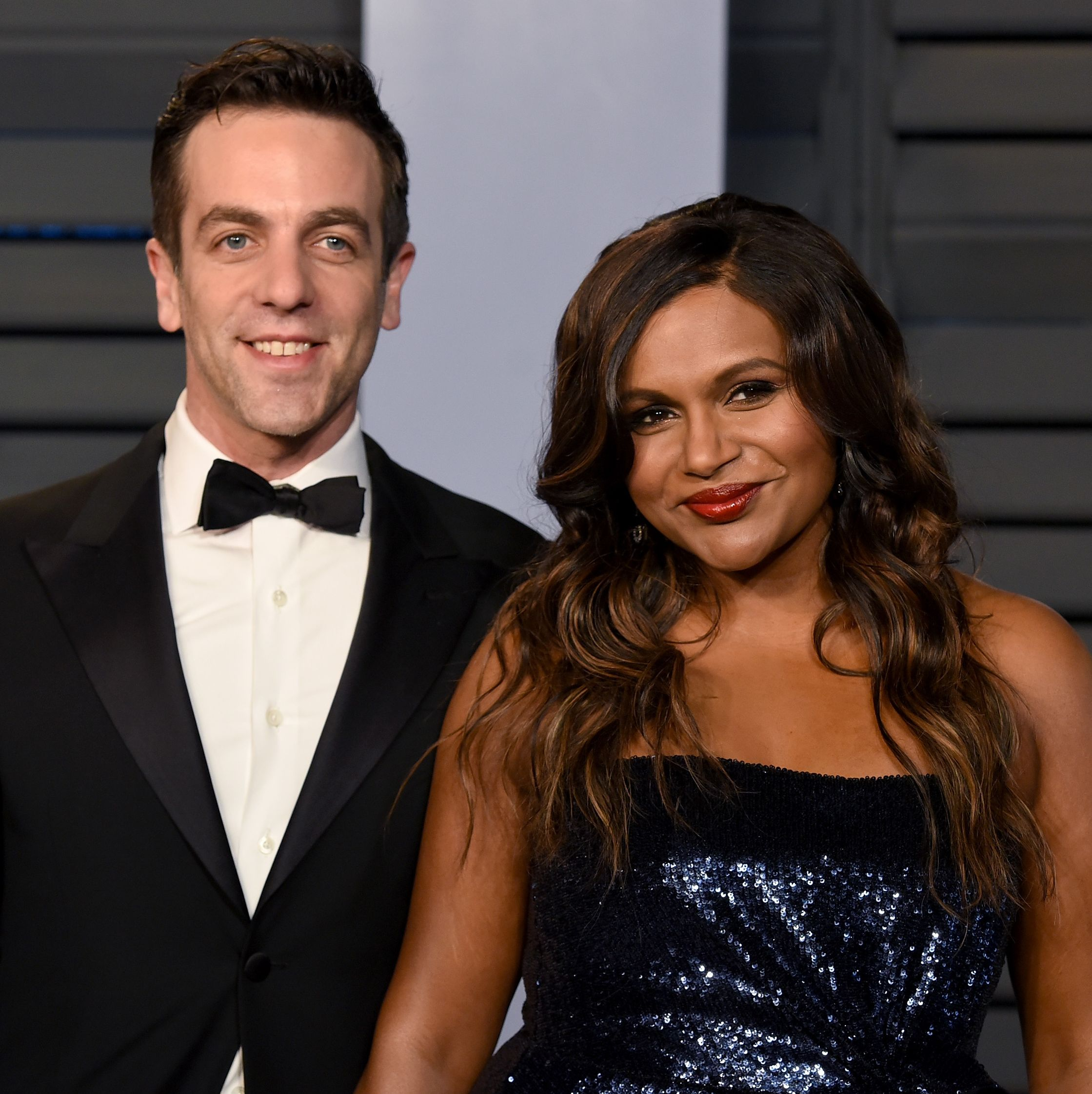 Mindy Kaling Bj Novak Godfather To Daughter