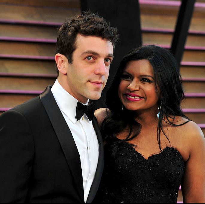 A Complete Timeline Of Mindy Kaling And B J Novaks Relationship History