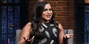 Mindy Kaling Seth Meyers