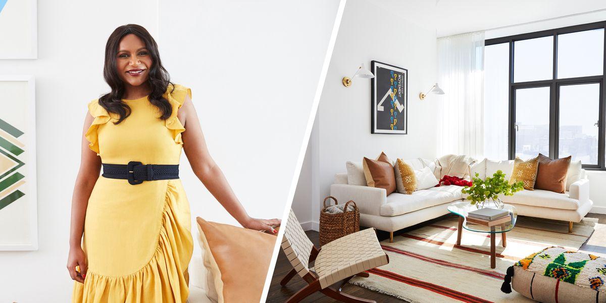 Inside Mindy Kaling's NYC Apartment - One Kings Lane