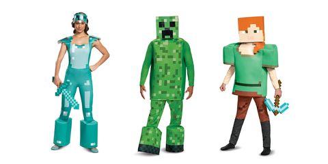 minecraft group costumes
