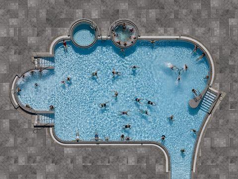 Otra forma de ver las piscinas con fotografías aéreas de Stephan Zirwes