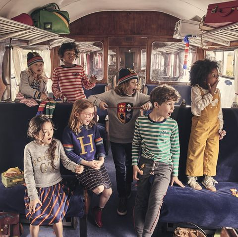 Mini Boden x Harry Potter collection