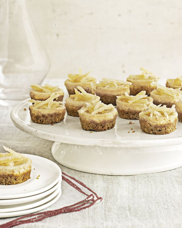 mini brownsugar cheesecakes