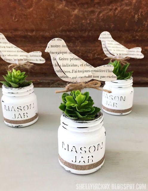mason jar design for DIY decor