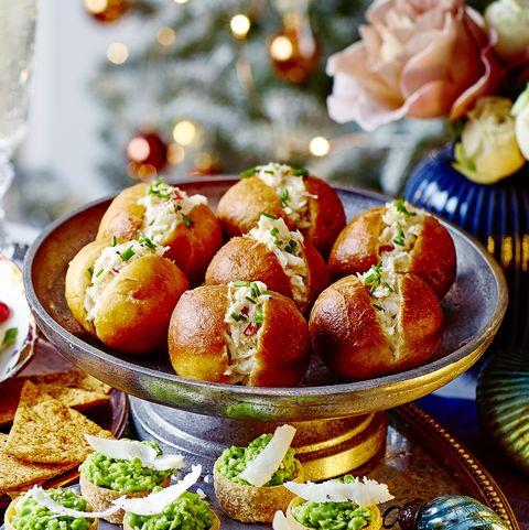 best crab recipes mini chilli and crab doughnuts
