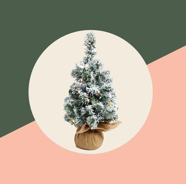 15 mini christmas trees   tabletop christmas trees, small trees