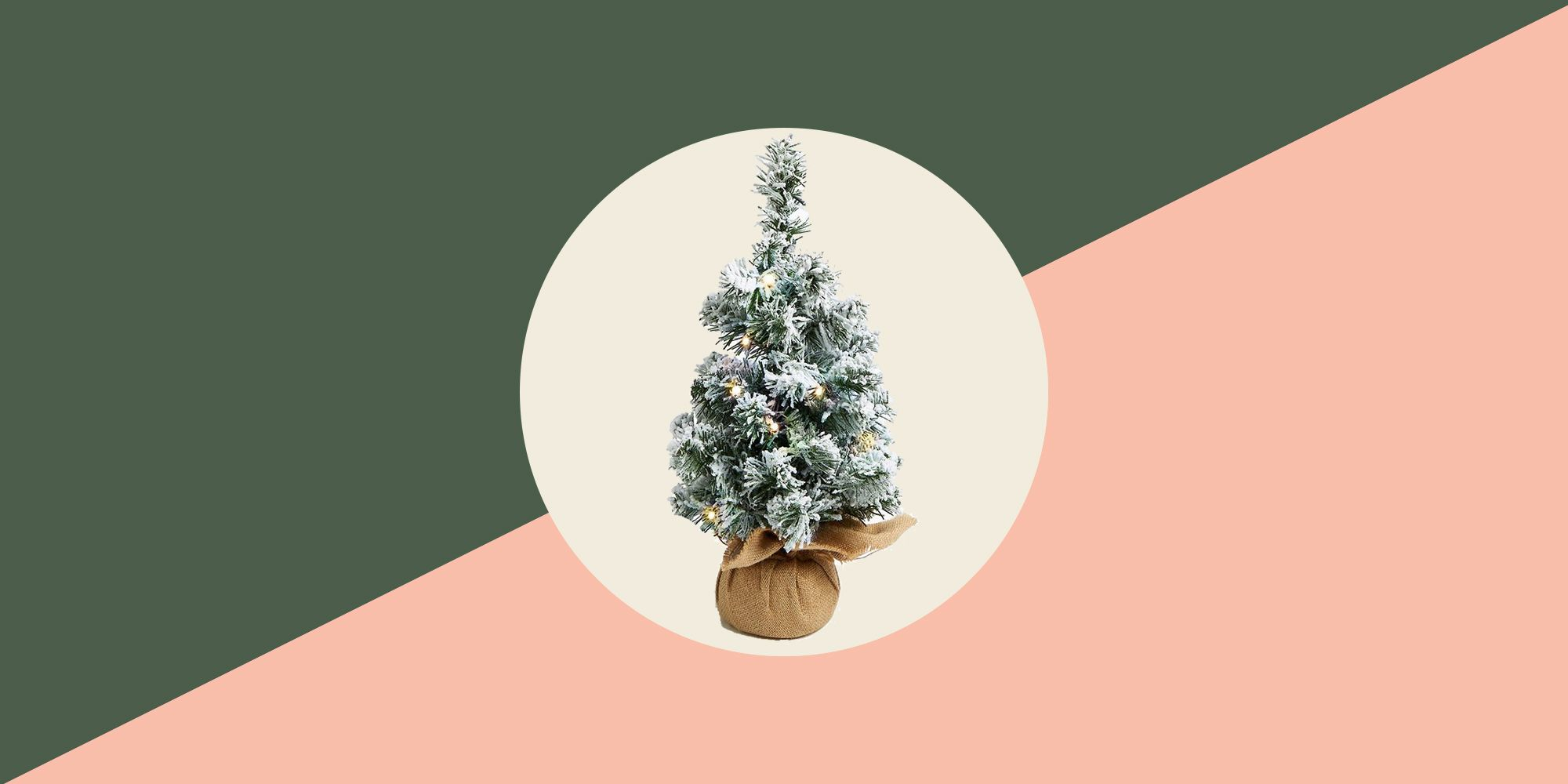 15 Mini Christmas Trees Tabletop Christmas Trees Small Trees