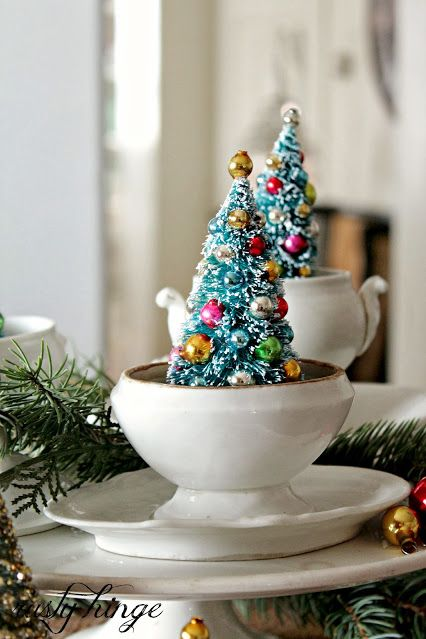 37 Best Small Christmas Trees - Ideas for Decorating Mini ...