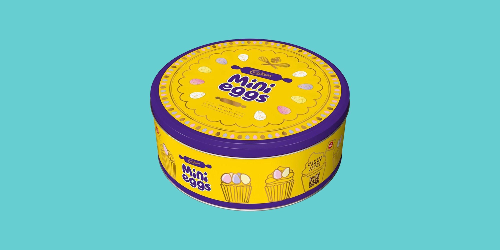 Cadbury are selling a Mini Eggs Tin