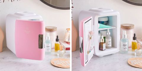 Skin Care Fridges Are Trending Store Your Beauty Products In A Mini Fridge